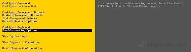 نحوه فعال سازی SSH و ESXi Shell در vmWare