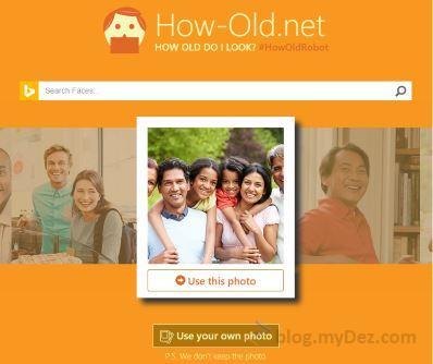 """سرویس جدید مایکروسافت: """"من چند ساله به نظر میرسم"""""""